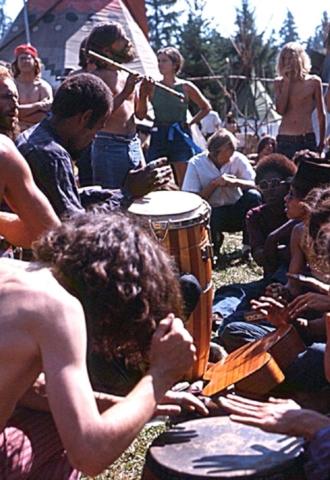 Drumming - Vortex 1 - 1970 - McIver State Park