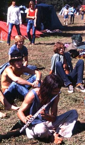 Flute Player - Vortex 1 - 1970 - McIver State Park