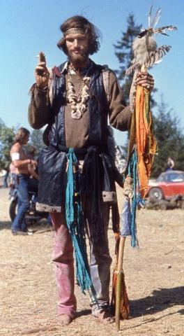 Hippie Dude - Vortex 1 - 1970 - McIver State Park