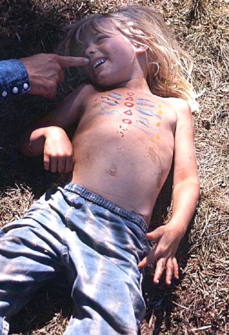 Kid Smiling - Vortex 1 - 1970 - McIver State Park