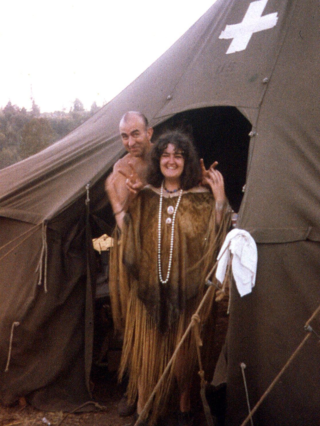Medical Tent - Vortex 1 - 1970 - McIver State Park