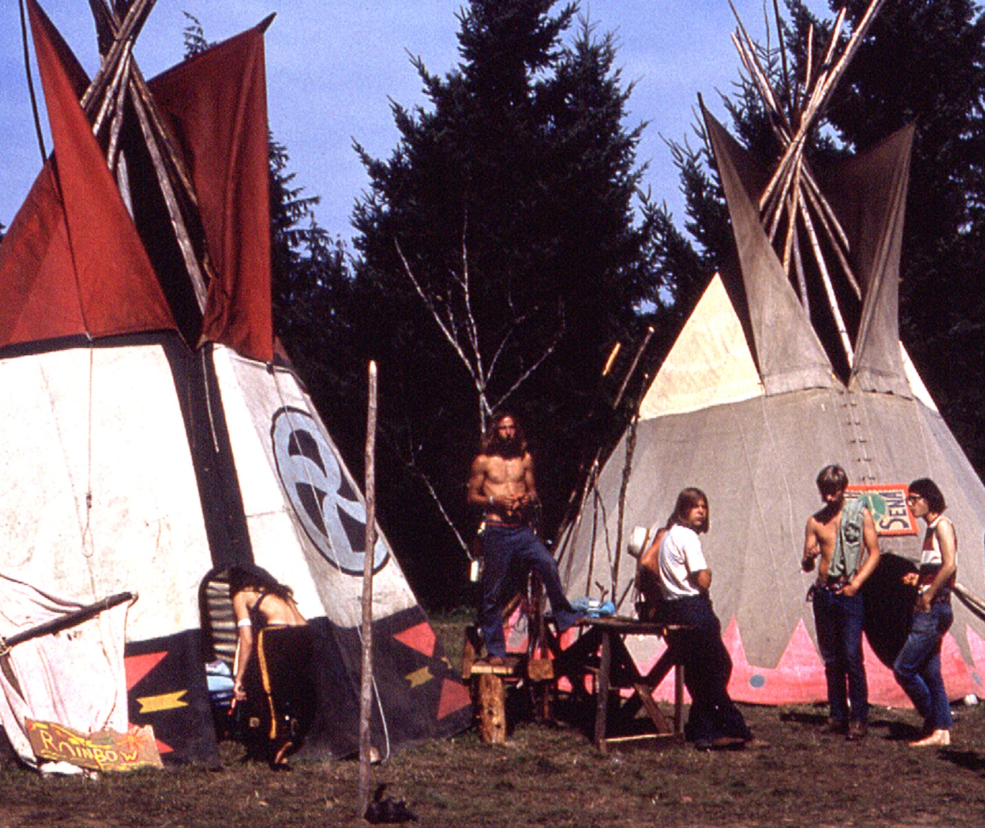 More TeePees - Vortex 1 - 1970 - McIver State Park