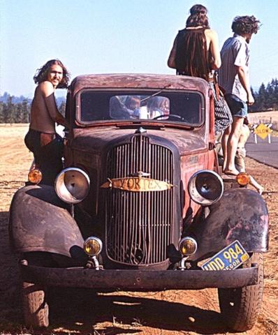 Old Rig - Vortex 1 - 1970 - McIver State Park