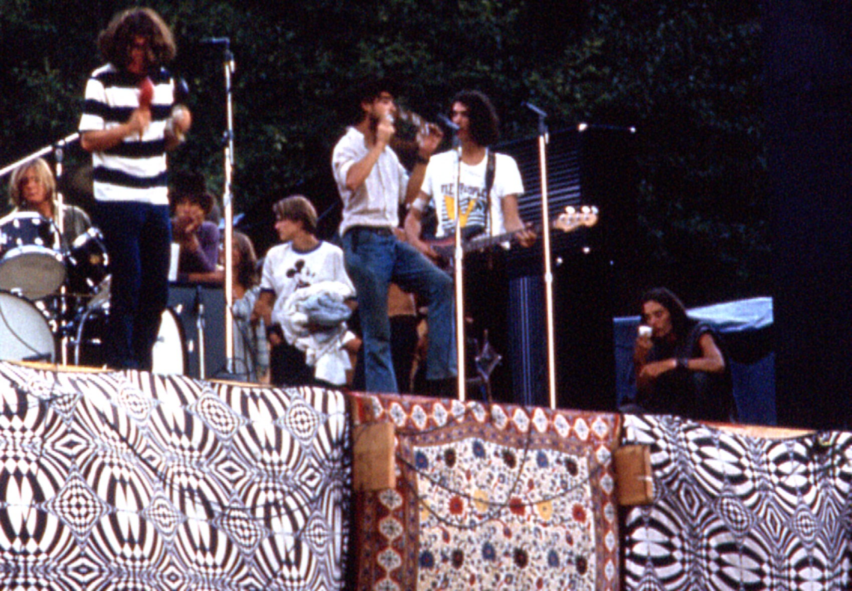 Band on Stage - Vortex 1 - 1970 - McIver State Park