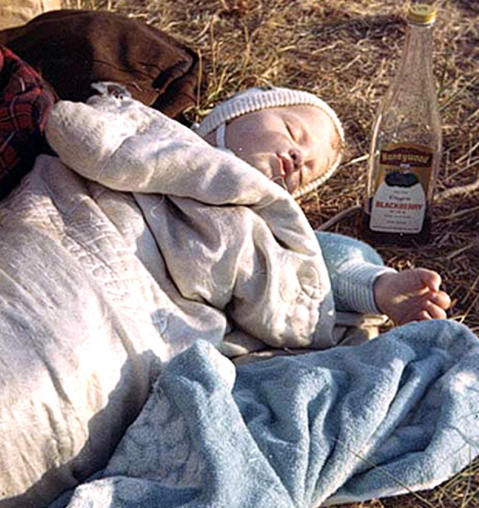 Sleeping Baby - Vortex 1 - 1970 - McIver State Park